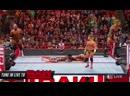 WWE Raw The Viper makes his presence felt