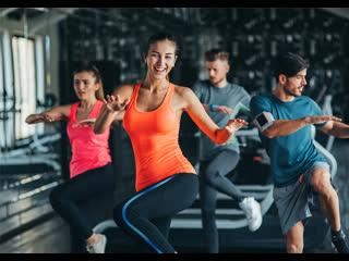 ZUMBA фитнес-кардио тренировка