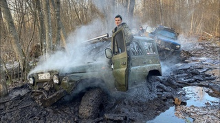 Пришлось разворачиваться! Все Машины сломались, сварка в лесу