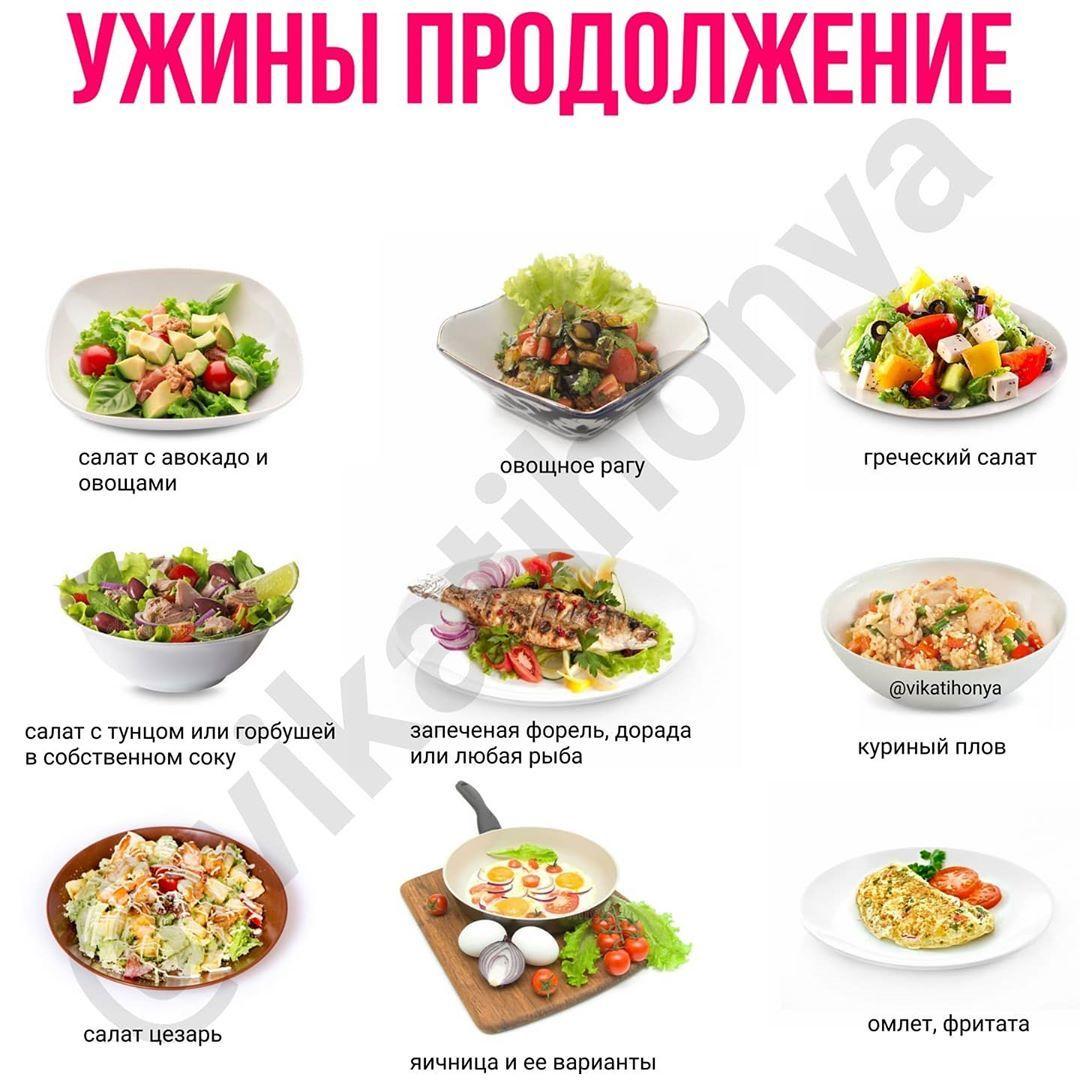 Идеи ужинов