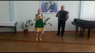 Зозуля Елизавета, III возрастная группа, ДШИ им. Г.Ф. Пономаренко г. Славянска-на-Кубани