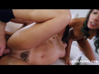 Sluts Abella Danger and Janice Griffith get anally punished by Chris Strokes AB001