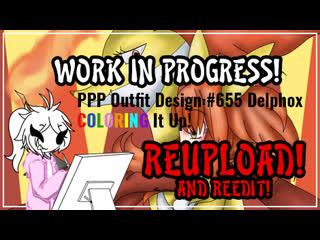Re-upload & re-edit: ppp outfit design work in progress: #655 delphox