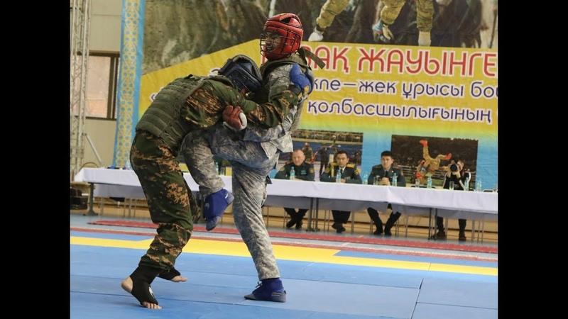 Қазақ жауынгерлері арасында жекпе жектен ашық чемпионат өтті