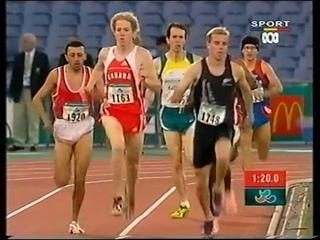 Sydney 2000 Paralympic Games - Mens T13 800m Final
