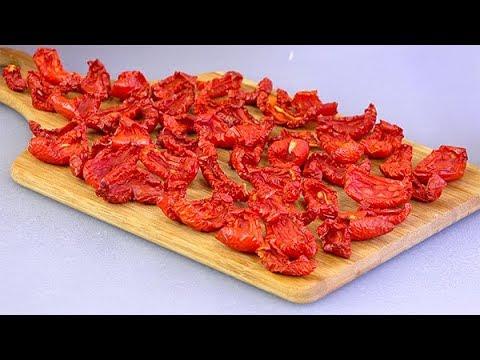Большая СУШКА Вяленое МЯСО и помидоры сухой ОВОЩНОЙ бульон Как я сушу и храню овощи