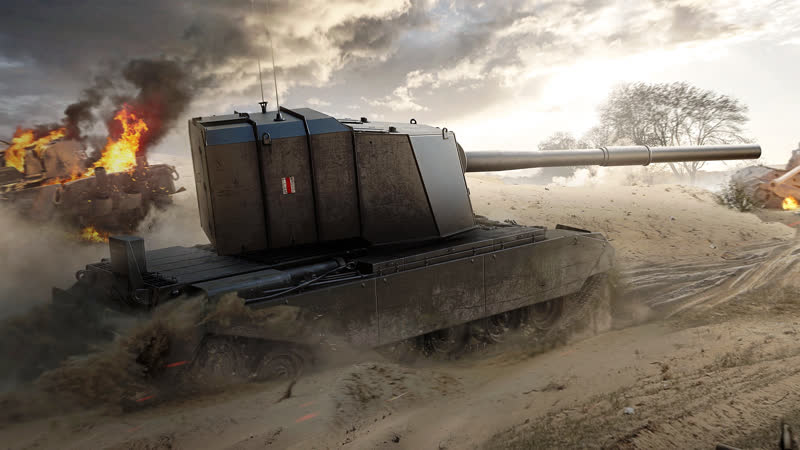 FV4005 Stage II DERP FURIOUS World of Tanks 720p