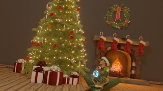 How to assemble the christmas tree by Tracer - Overwatch - 3d Animation