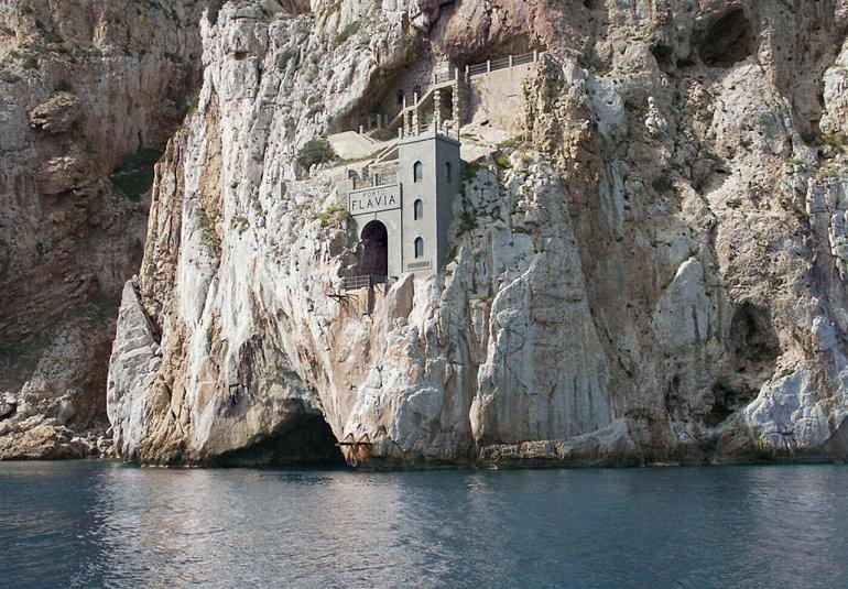 Порто Флавия - уникальная шахта на Сардинии, изображение №2