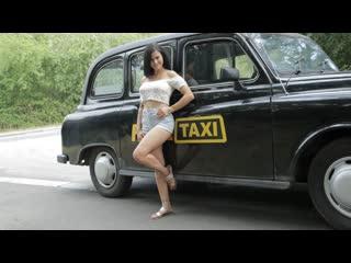 Billie Star - Time To Party in Billies Taxi (All Sex Porn Blowjob Big Tits Doggy Czech Amateur Brunette Public Car POV Hardcore)