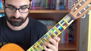 Corona days with Lego Microtonal Guitar