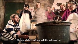 Four Chesees - SUB ENG   La lavorazione del formaggio sardo