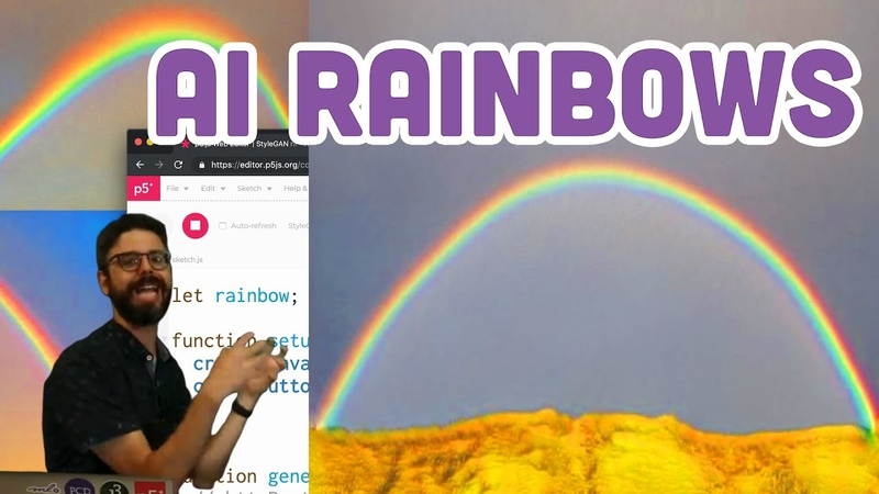 Coding Challenge 150: AI Rainbows with Runway and p5.js