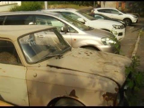 Брошенные и забытые Рассказываем об автомобилях которые хозяева оставили во дворах