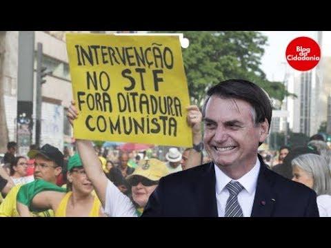 STF flagra Bolsonaro por trás de ataques