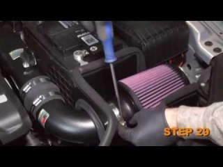 Volkswagen CC, EOS and GTI, Jetta GLI, Passat and Audi A3  Air Intake Installation