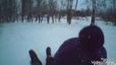 Эпичное видео с катаний на ватрушках экстремальная съёмка