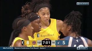 Los Angeles Sparks-Minnesota Lynx. 31-08-20. WNBA