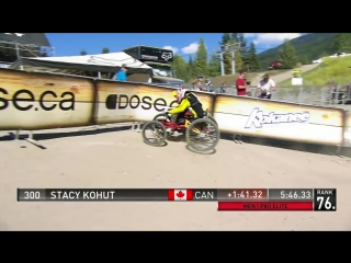 Mountain Biking on Four Wheels is Faster Than Two - The Stacy Kohut Story