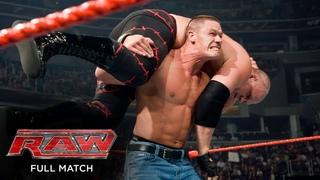 FULL MATCH - John Cena & Batista vs. Kane & JBL: Raw, July 28, 2008