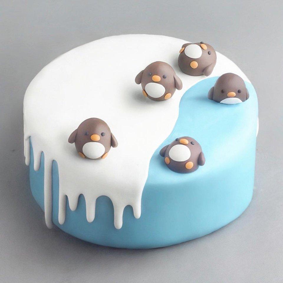 При одном взгляде на этот тортик наш мимимиметр начинает заш