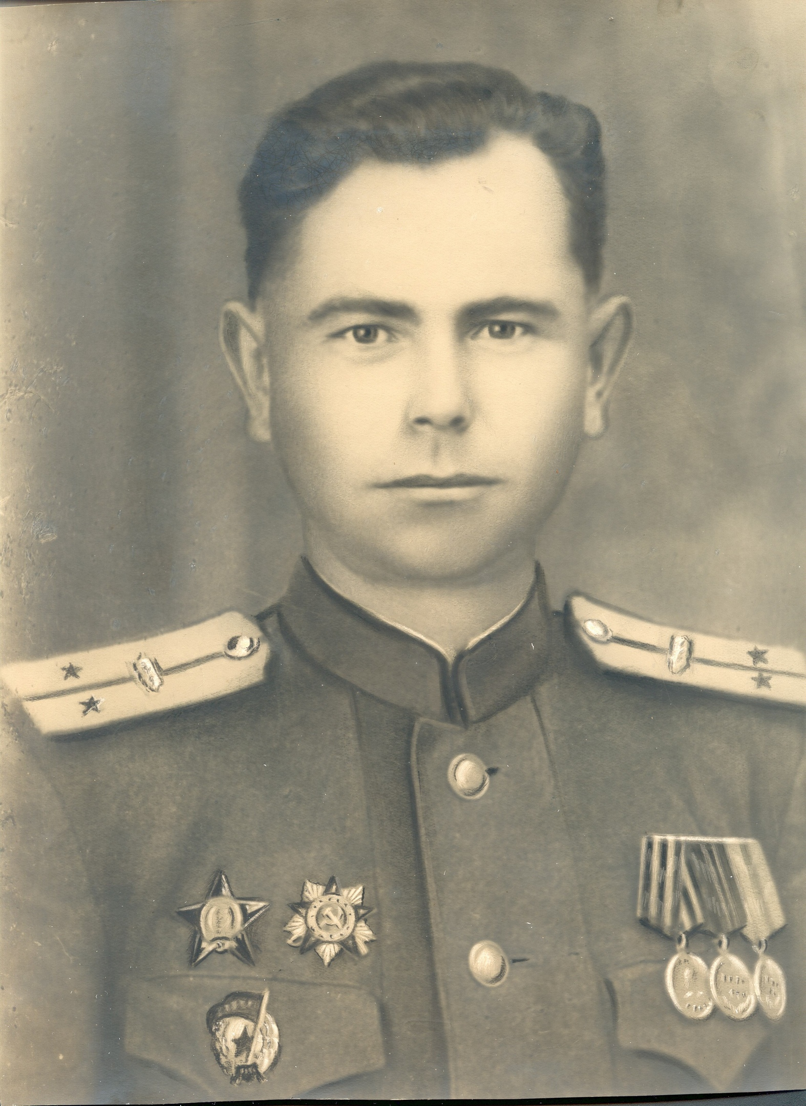 Гвардии лейтенант Степ