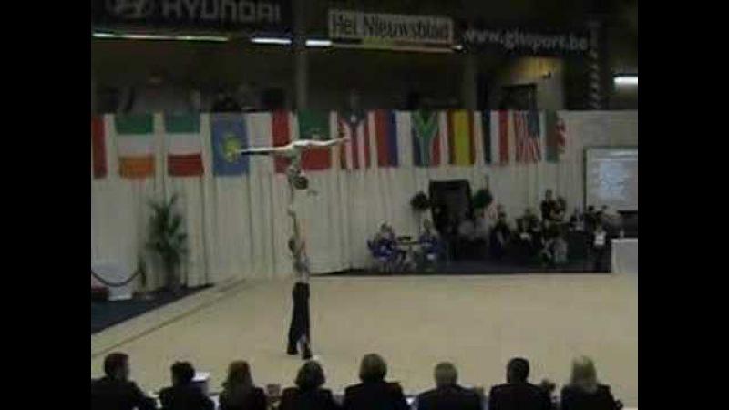 ACROGYM BELARUS WIT RUSLAND MIX PAIR WORLD CUP 2006