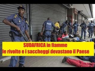 Le rivolte e i saccheggi in SudAfrica stanno devastando il Paese, vediamo cosa li ha scatenati