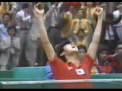 Азиатские игры 1986 Настольный теннис Мужчины Команды Финал Южная Корея Китай