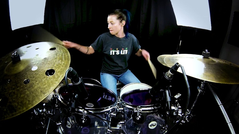 Lindsey Raye Ward - Sia - Santa's Coming For Us (Drum Cover)