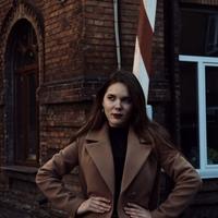 Фотография страницы Аліны Колоды ВКонтакте
