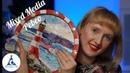 Мастер класс Mixed Media Vitrail Moon Ceramic Prisme Pebeo рисуем маяк на деревянной тарелке