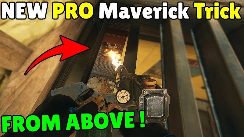 NEW *1 Million IQ* Maverick Trick By Pro Players Rainbow Six Siege