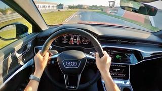 2021 Audi RS6 Avant - POV Track Test at M1 Concourse