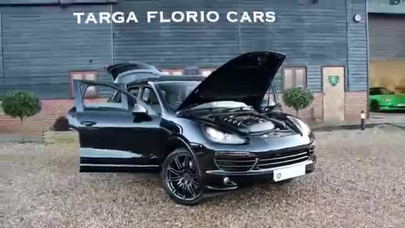 Porsche Cayenne S Diesel 5dr Tiptronic S Automatic in Black 2013