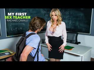 Rachael Cavalli - Professor Rachael gives her student a perfect goodbye fuck - All Sex Milf Big Tits Juicy Ass Deepthroat, Porn