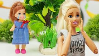 Штеффи ушла из дома! Видео для девочек - Игры в куклы Барби