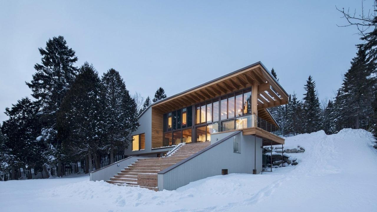 Bourgeois Lechasseur / Дом у озера