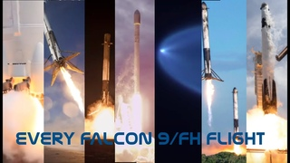Falcon 9 at 10 years: Every Falcon 9/H Launch and Landing