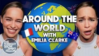 "Emilia Clarke Recites ""good 4 u"" Using Different Accents | The Tonight Show Starring Jimmy Fallon"