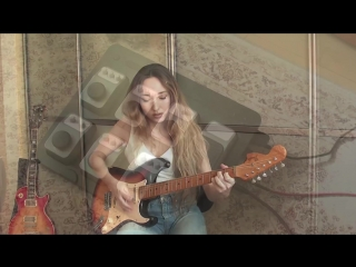 Stevie ray vaughan mary had a little lamb cover by yana