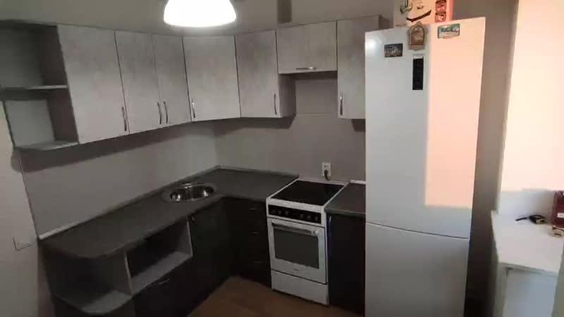 Кухня БЕТОН mp4