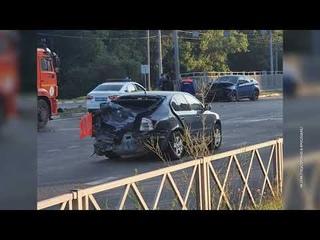 Ночью в Ярославле на Московском проспекте случилась страшная авария