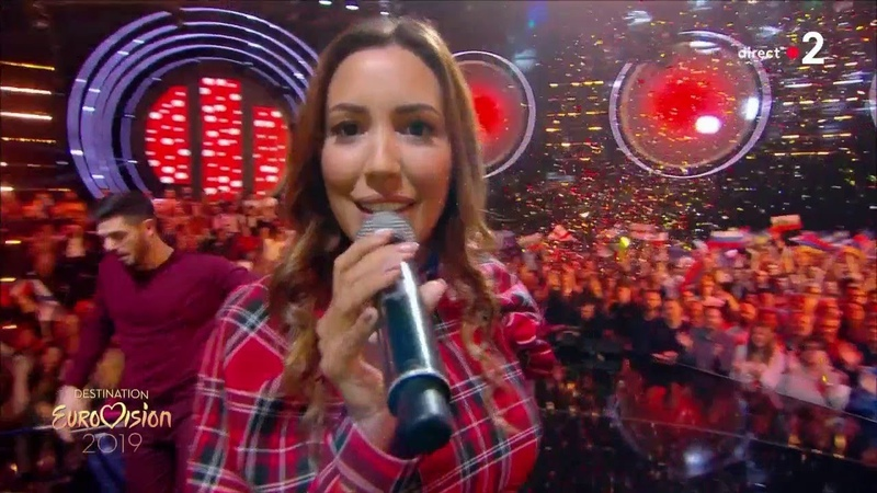 Noémie Ma petite famille Destination Eurovision 2019 2eme demi finale смотреть онлайн без регистрации