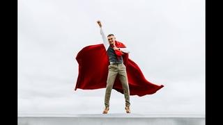 """Wedding slide show. Прикольное слайд шоу """"Superman"""" из свадебных фотографий."""
