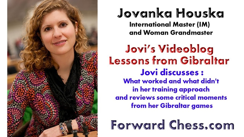 Jovanka Houska Videoblog What worked and what didn't lessons from Gibraltar