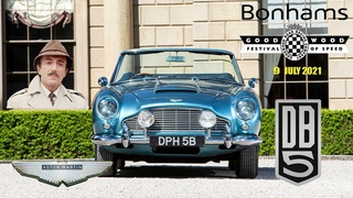 1964 Aston Martin DB5 Convertible - Bonhams The Goodwood Festival of Speed,  09 июля 2021