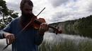 Violin Free Improvisation - Kosta T - свободная импровизация на скрипке