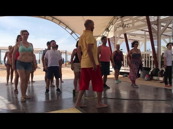 Танцевальная Пластика Сальса урок часть 1 Андрей Корзун @ QFest Salsa Festival 2020