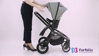 Новинка! Модульная коляска Baby Shell 2в1